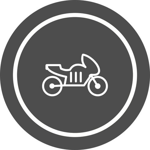 disegno dell'icona della bici