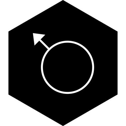 Design de ícone masculino