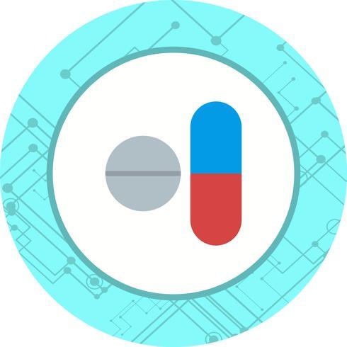 Diseño de iconos de medicamentos vector