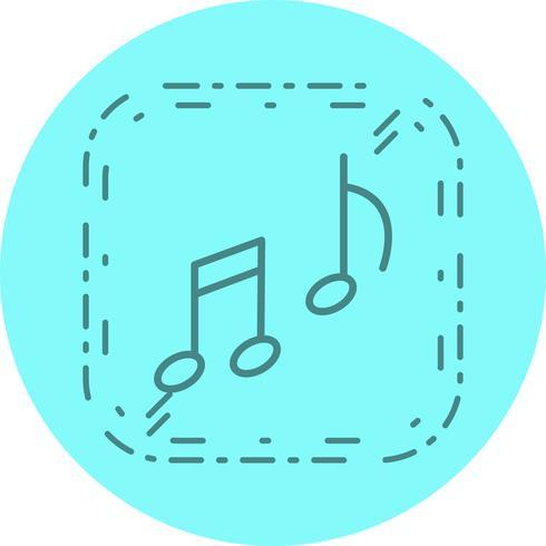 Disegno dell'icona di musica