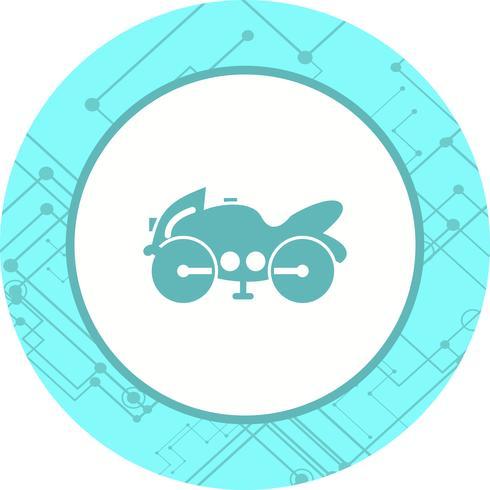 Heavy Bike Icon Design