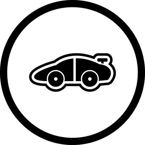 Diseño de icono de coche deportivo