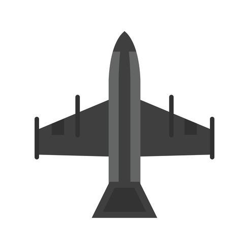 straaljager pictogram ontwerp