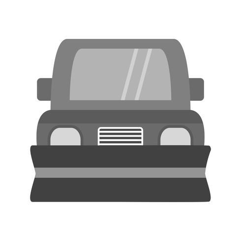 Snowplow ícone Design