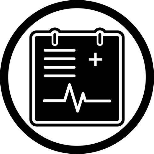 Medical Chart Icon Design