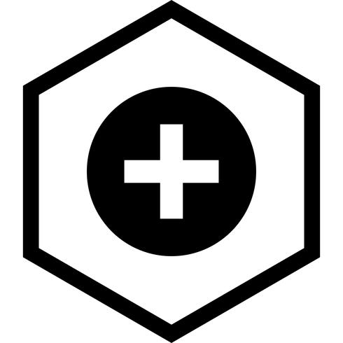 Disegno dell'icona del segno medico