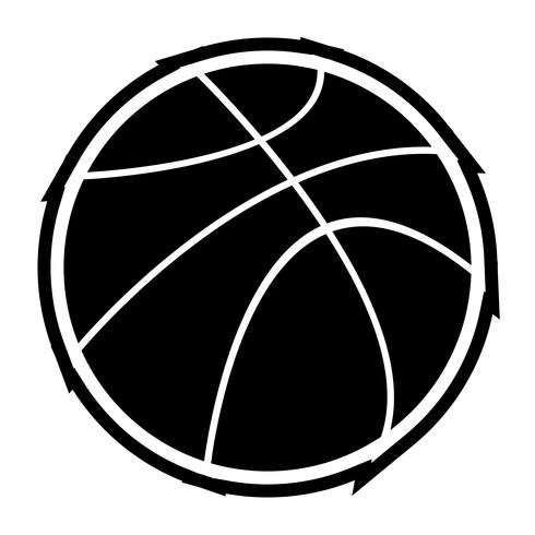 conception d'icône de basket ball