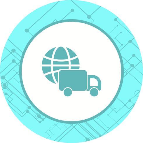 Progettazione dell'icona di consegna globale
