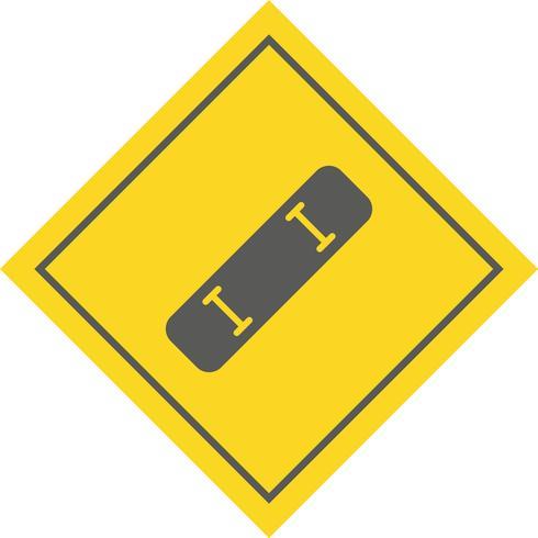 skate board pictogram ontwerp