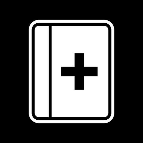 Medical Book Icon Design