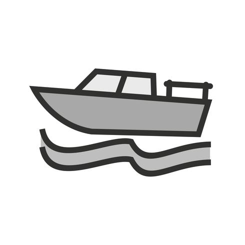 Diseño de icono de barco vector
