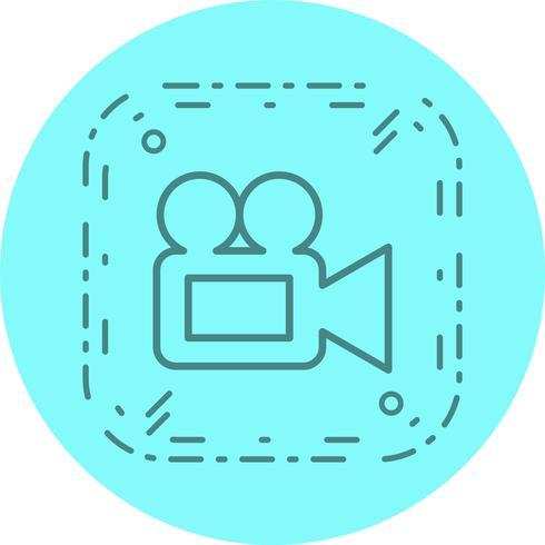 Disegno dell'icona della videocamera