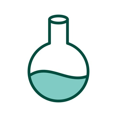 Flask Icon Design vector