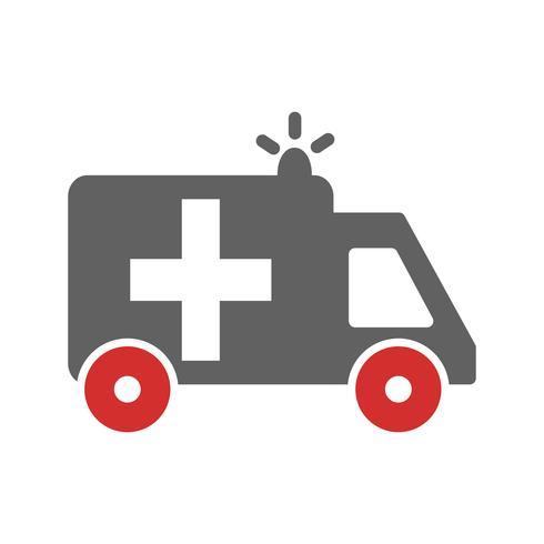 Disegno dell'icona dell'ambulanza