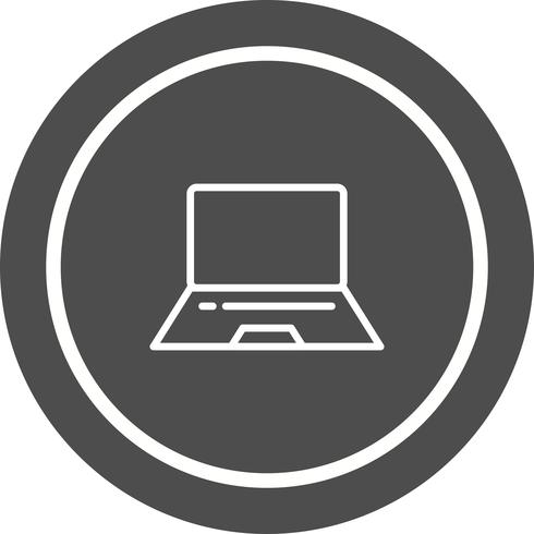 Laptop Icon Design vector