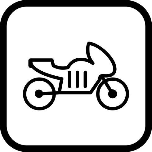 Diseño de icono de bicicleta
