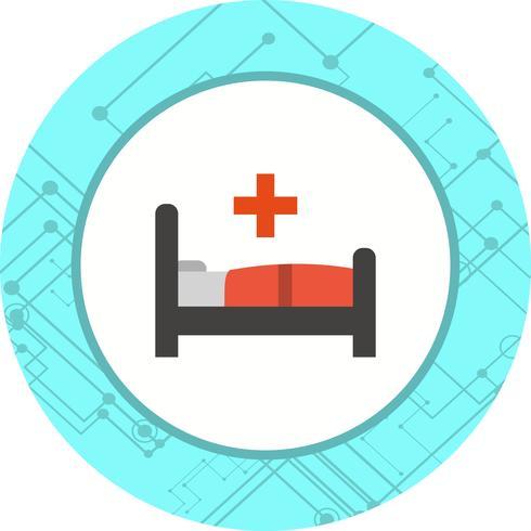 Diseño de icono de cama