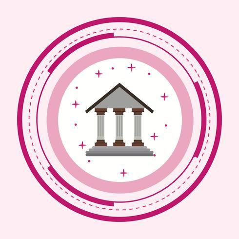 Projeto de ícone do Instituto educacional