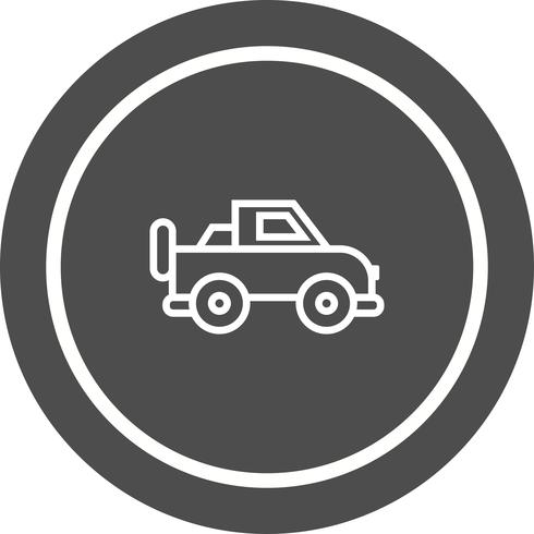 diseño de icono de jeep