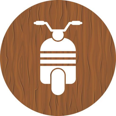 Design de ícone de scooter vetor