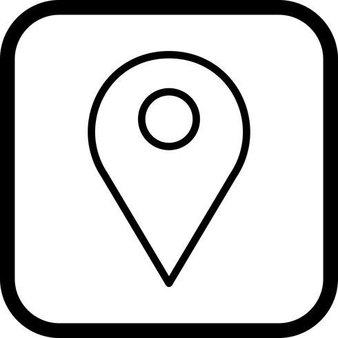 Design de ícone de localização
