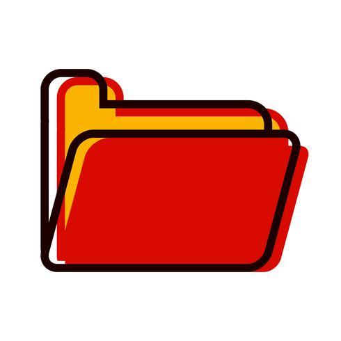Design de ícone de pasta