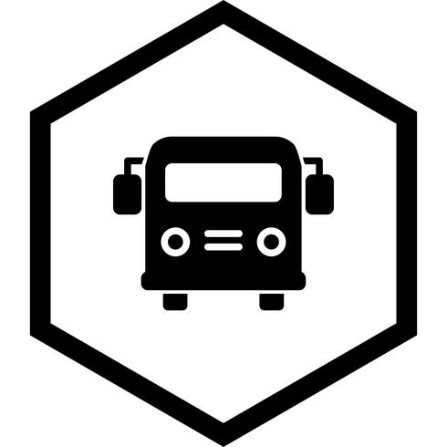 Schulbus Icon Design