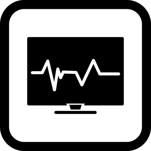 Projeto do ícone do pulso vetor