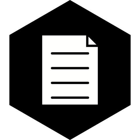 design de ícone de relatório vetor