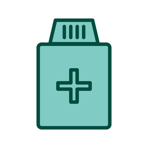 Medicine Bottle Icon Design