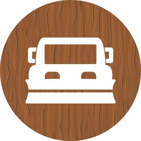 Schneepflug-Icon-Design