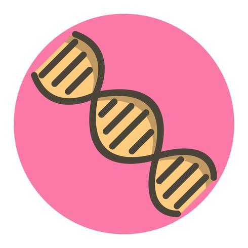 DNA Icon Design vector