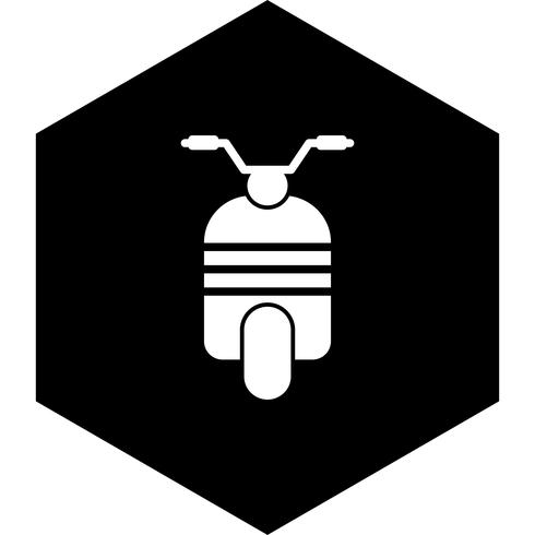 scooter pictogram ontwerp