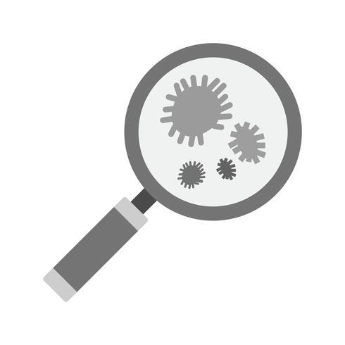 Bacteria Icon Design vector
