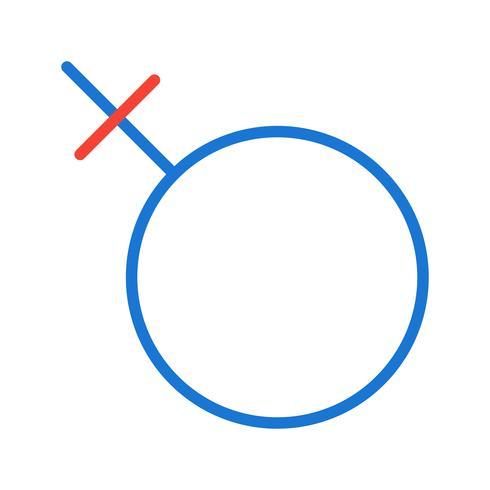 Design de ícone feminino vetor