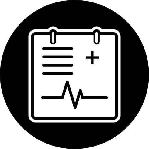 Medical Chart Icon Design