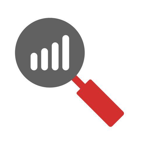 Design de ícone de análise