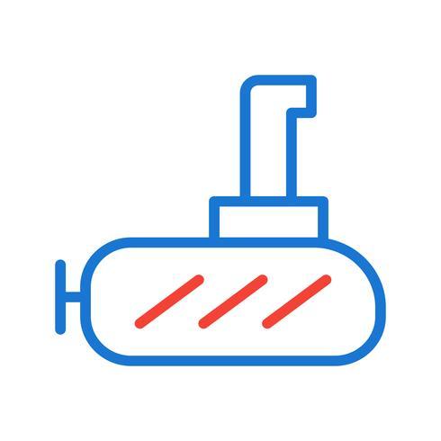 Design de ícone submarino