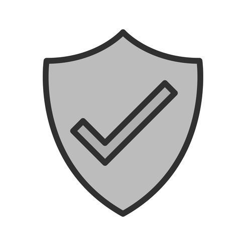 Design de ícone de escudo