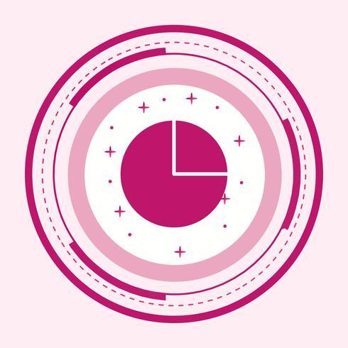 Pie Chart Icon Design