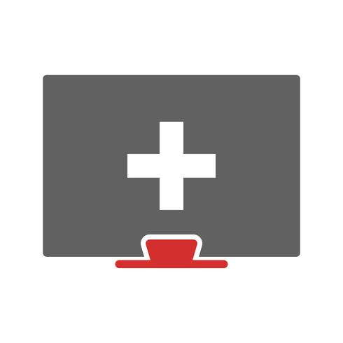 Online Medical Help Icon Design