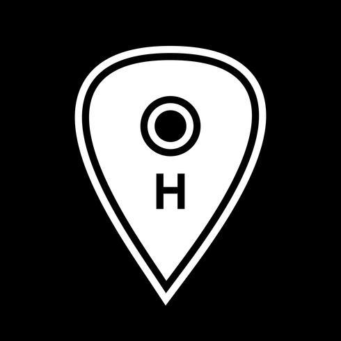 Progettazione dell'icona di posizione dell'ospedale