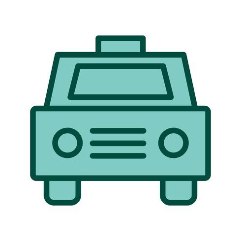 disegno dell'icona del taxi