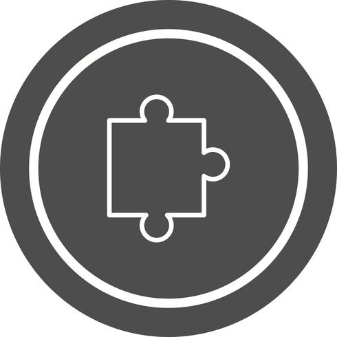 Pièce de puzzle icône Design