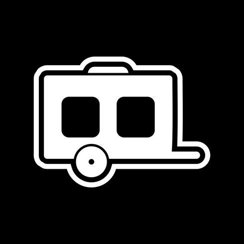 Diseño de iconos de vagones vector