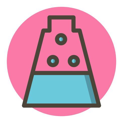 disegno dell'icona di esperimento