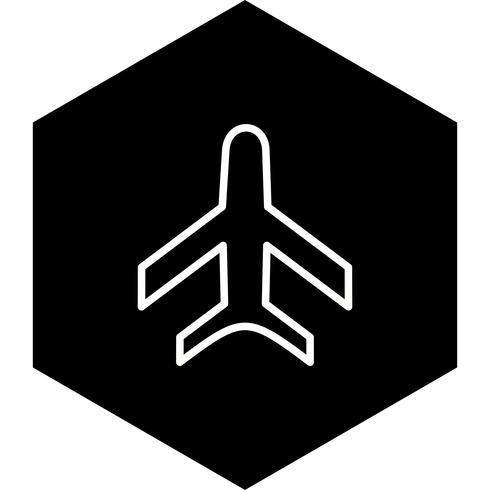 Design de ícone de avião