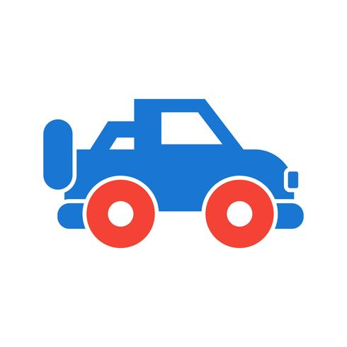 jeep pictogram ontwerp