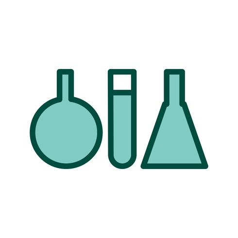 Test Tubes Icon Design