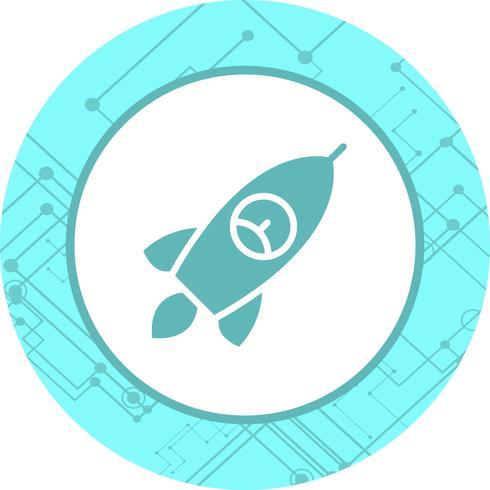 Raketen-Icon-Design